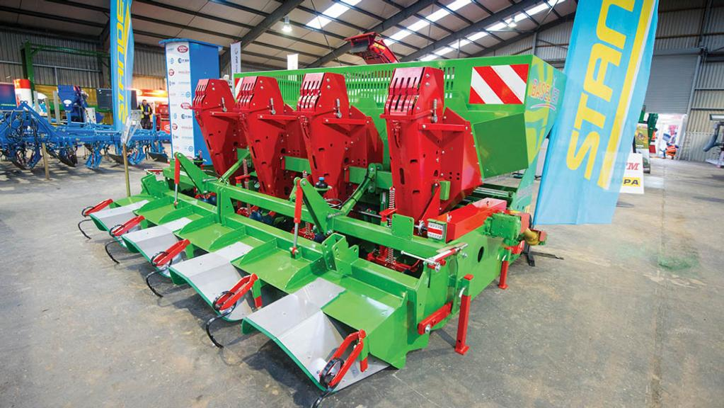 Standen Baselier one-pass potato planter/cultivator