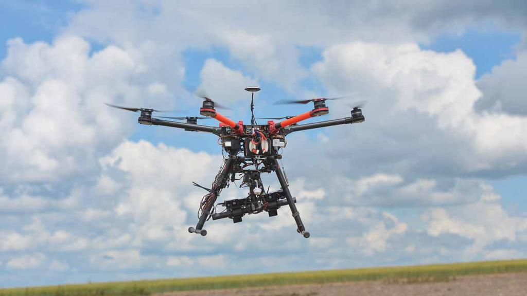 A bird's eye view of what is happening' - drone potential
