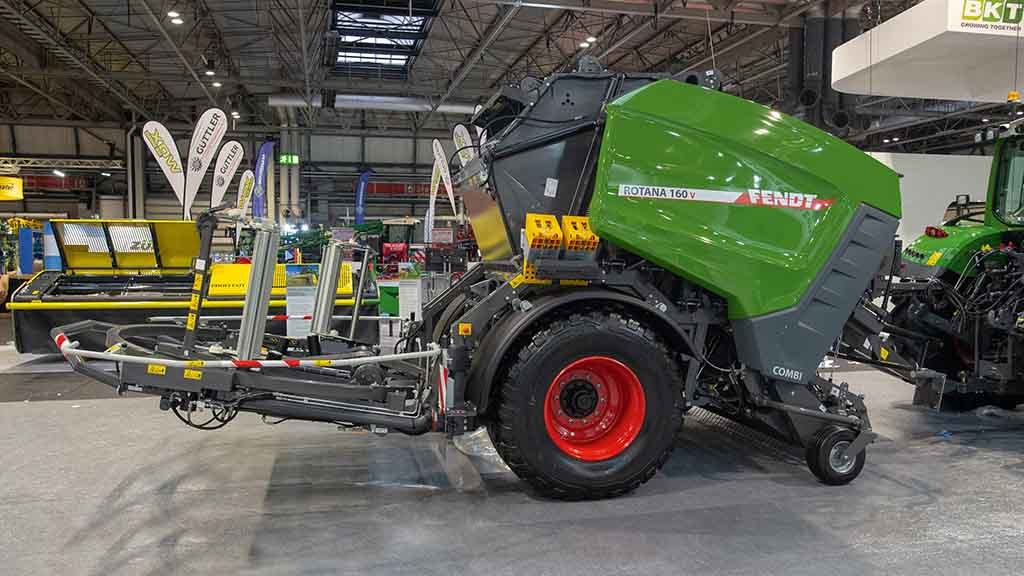 Fendt Rotana combination round balers