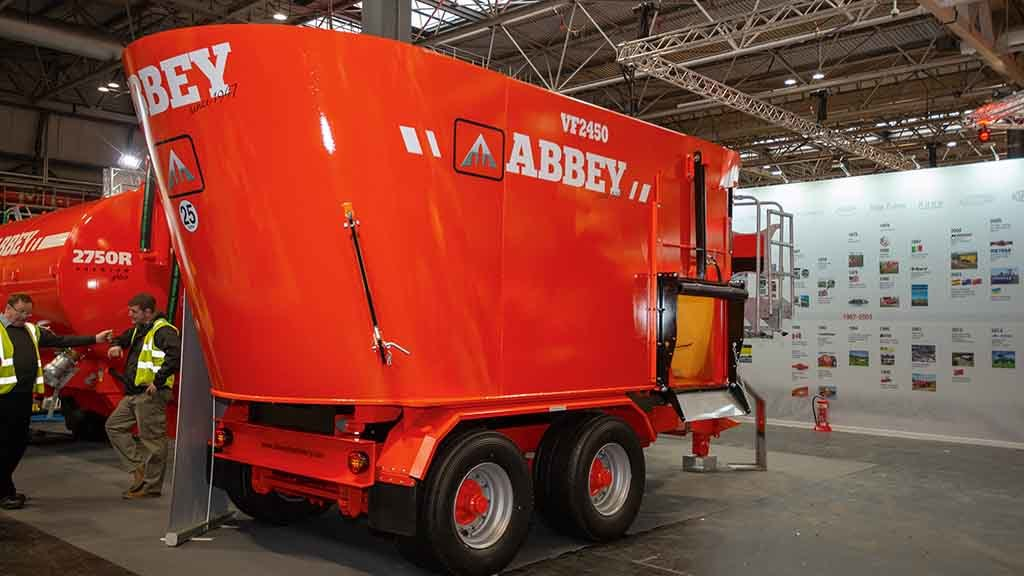Abbey Machinery Feeder Plus mixer wagons